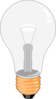 Electric lightbulb lamp clip art