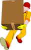 movers moving box shipping clip art
