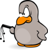 bird cartoon manager mimooh 01 clip art