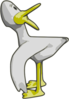 duck yellow kurt cagle clip art
