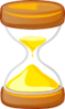 hourglass time sand clessidra architetto fra 01 clip art