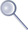 magnifying glass olivier 01 clip art