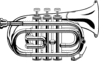 trumpet pocket  ganson clip art