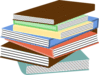 book stack of books 01 clip art