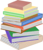 book stack of books taller ga clip art
