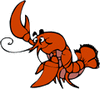 lobster toon clip art