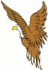 bald eagle small clip art
