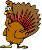 turkey toon clip art