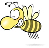 bee big-nose clip art