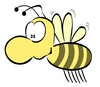 bee big nose 2 clip art