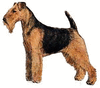Welsh Terrier clip art