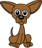 mousey dog clip art