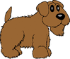 scrappy dog clip art