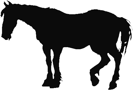 horse silhouette 1