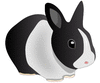 rabbit friendly rabbit clip art