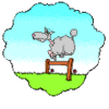 sheep count sheep clip art
