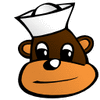 sailor monkey clip art