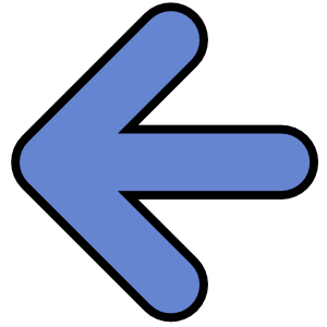 arrow blue rounded left