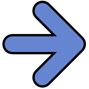 arrow blue rounded right