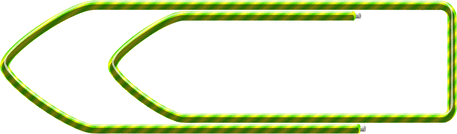 paper clip striped horizontal