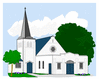 church 1 clip art
