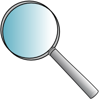Office Supplies magnifying glass 01