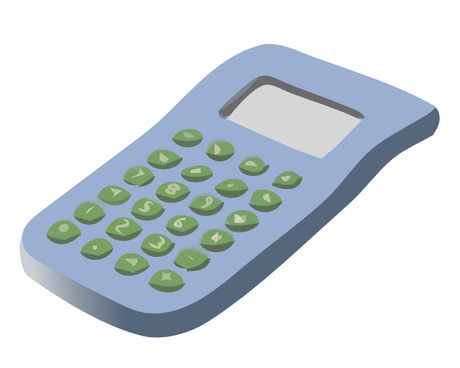 Office Supplies simple calculator 01