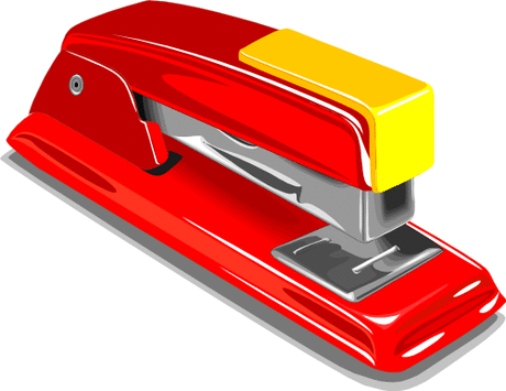 Office Supplies stapler red