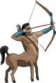 Mythical Archer Centaur