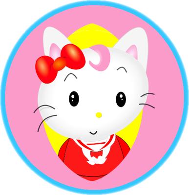 kitten toon character