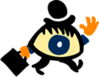 Eye Man clip art