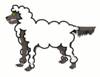 Wolf in Sheep s Clothing clip art