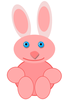baby rabbit blue eyes clip art