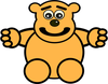 bear where s my hug clip art