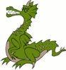 dragon green clip art