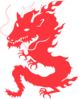 dragon red clip art