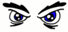 eyes angry clip art