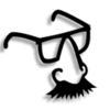 groucho glasses clip art