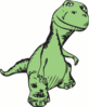happy dinosaur clip art
