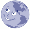 happy planet clip art