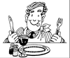 ready to dine clip art