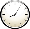 wall clock tan clip art