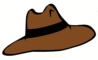 adventure hat 1 clip art