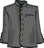 dress jacket clip art