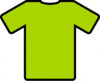 green t shirt clip art