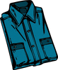 shirt folded clip art