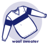 wool sweater clip art