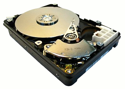 hdd inside view