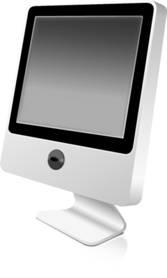 LCD monitor stylish