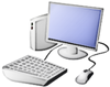 Computer and Desktop clip art